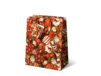 Lackpapiertüten Tragetaschen Weihnachtskugeln